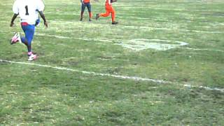 MONSTER YOUTH FOOTBALL HITS TERRELL TEXAS WTYFL HARD HITTING MARKEL SANY2647.AVI