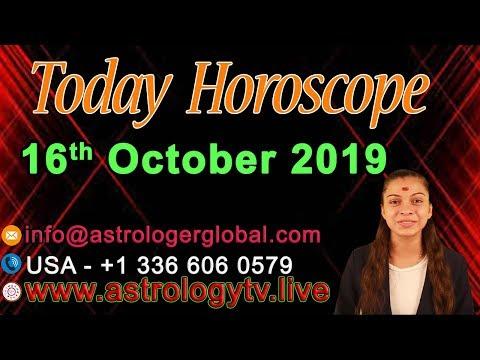 Ежедневный Гороскоп Русский 16th October 2019|индийская ведическая астрология Daily Horoscope