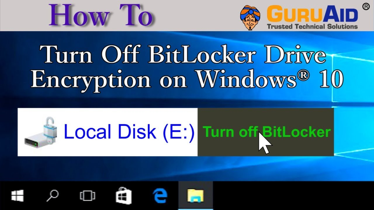 how to download bitlocker drive encryption