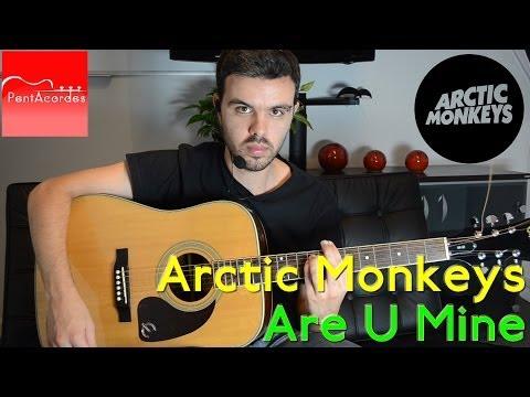 Como Tocar ARE YOU MINE de ARCTIC MONKEYS - Tutorial en Guitarra Acústica