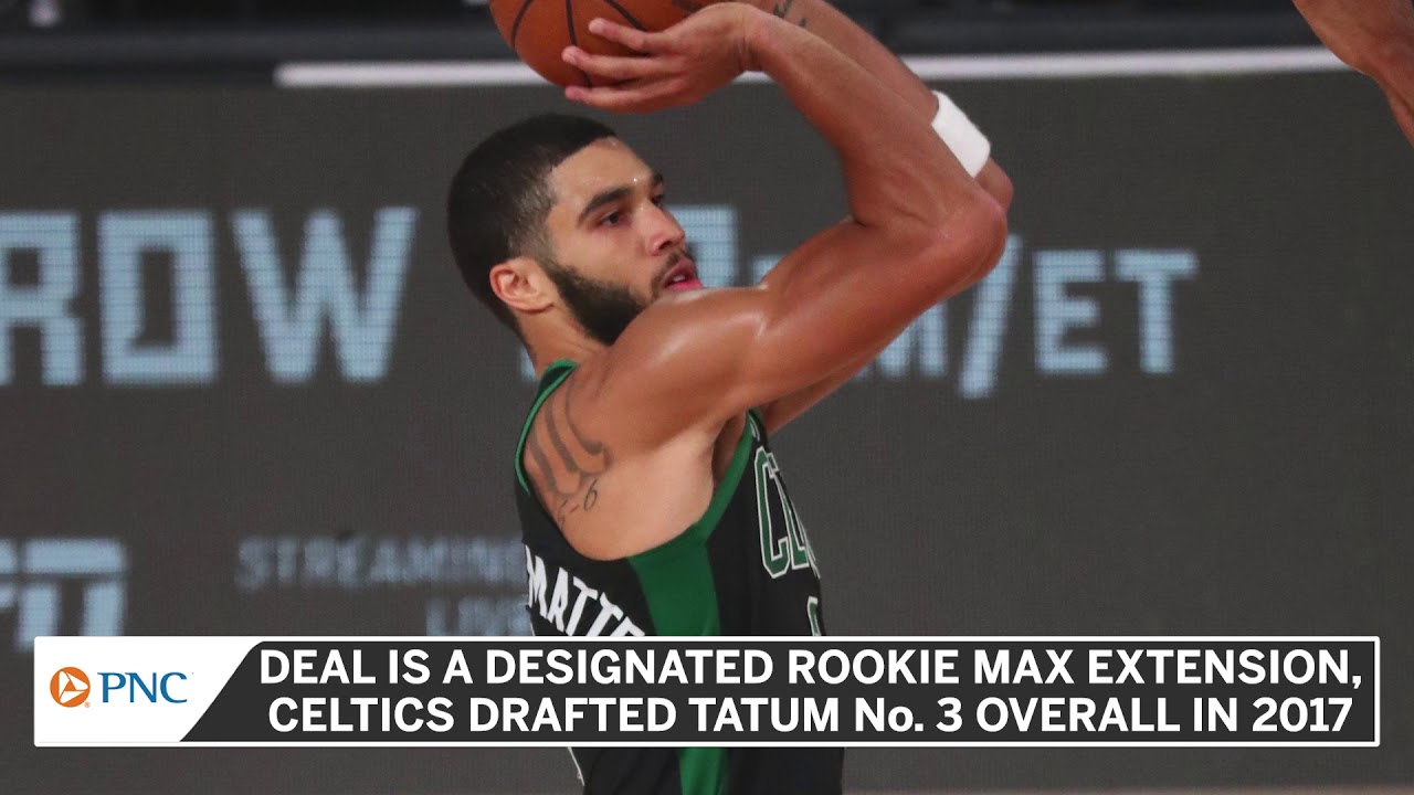 Jayson Tatum Reportedly Signing Massive Contract Extension With Celtics