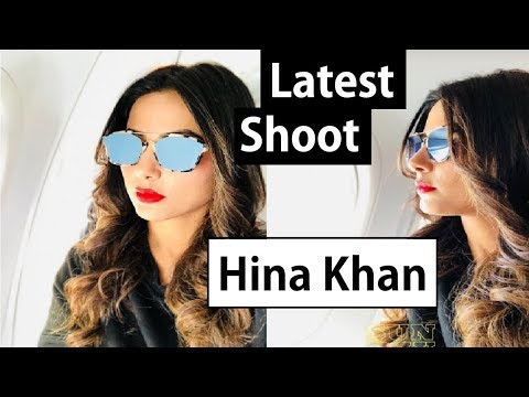 Hina Khan New Glamorous Photo shoot Post Dubai Ramp Walk|| Hina New Avtaar|| FCN