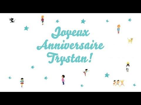 ♫ Joyeux Anniversaire Trystan! ♫