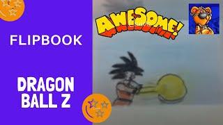 El Mejor Flipbook de Goku hecho en un par de horas