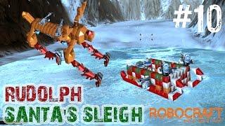 Robocraft: Rudolph And Santas Sleigh Christmas Designs - Let's Play #10