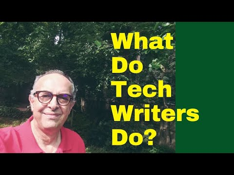 What do technical writers exactly do?