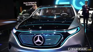 Mercedes Generation EQ : en direct du Mondial de Paris 2016