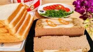 Cách Làm Pate Thơm Ngon Ăn bánh Mì|Xôi