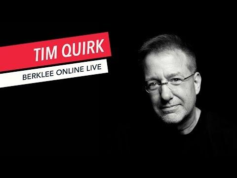 Tim Quirk: Berklee Online LIVE   Music Business   Q&A   2017