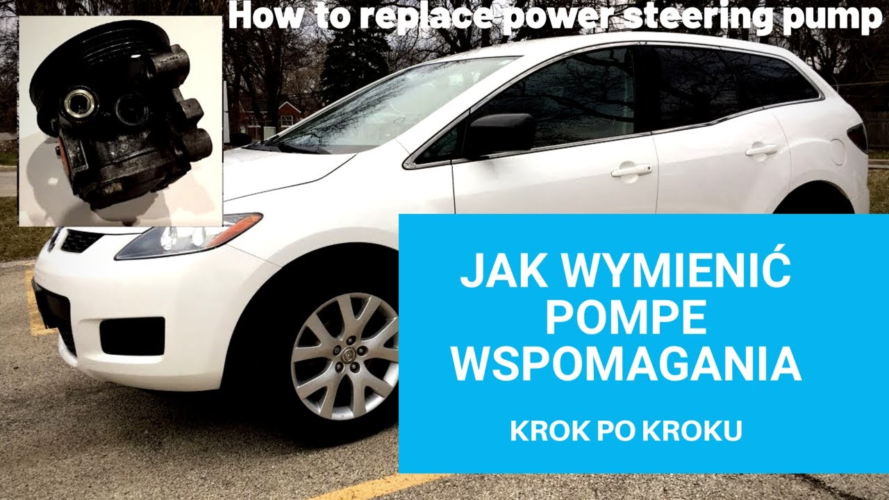 How To Replace Steering Pump Jak Wymienic Pompe Wspomagania