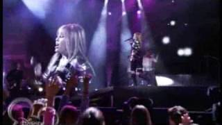 hannah montana - rockstar - OFFICIAL concert music video