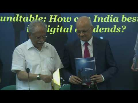 India launch of the World Development Report 2016 on Digital Dividends