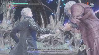 Devil May Cry 5 - mission 19 - Dante vs Vergil - difficult: Dante must die