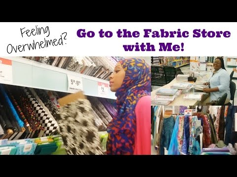 Go to the Fabric Store with Me | Beginners Guide