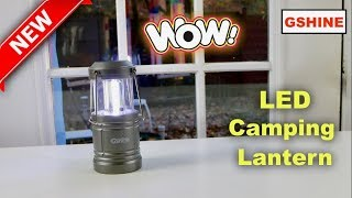 😍  Camping  LED Lantern  by GSHINE  - Review  - DISCOUNT CODE!    ✅