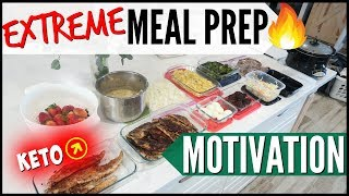 🔥ULTIMATE EASY WEEKLY FAMILY MEAL PREP ● KETO MEAL PREP MOTIVATION ● COOK WITH ME FOR THE WEEK