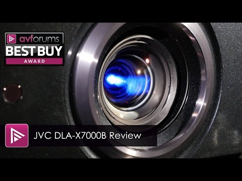 JVC DLA-X7000B D-ILA HDR Projector Review
