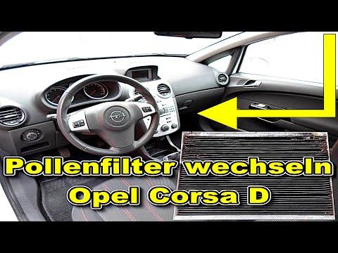 OPEL CORSA D INNENRAUMFILTER POLLENFILTER