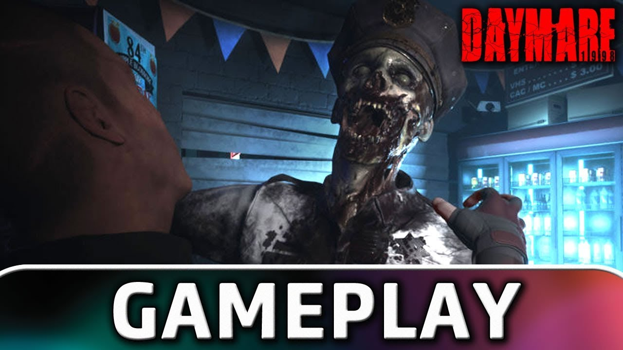 Daymare: 1998   First 15 Minutes of Gameplay