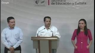 Rueda de Prensa - SEC, CECOP