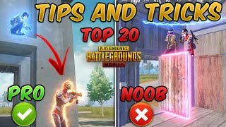 Top 20 Tips & Tricks in PUBG Mobile that Everyone Should Know (From NOOB TO PRO) Guide #8