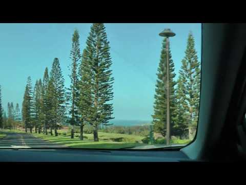 driving on Maui, Hawaii from the Aston Papakea Resort to Honolua Bay (1 of 2)