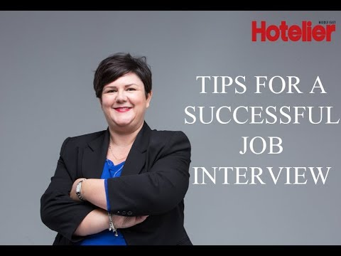 AccorHotels HR shares tips for a successful job interview - YouTube