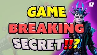 NOUVEAU Secret Fortnite Hero Ability - Jeu intentionnel Breaking Secret!!?