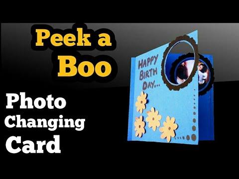 Peek a Boo Card Tutorial | Handmade Birthday Card | Friendship Day Card | Magic Card Tutorial |