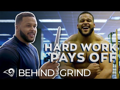 'Hard Work Pays Off' // Aaron Donald's Workout Dungeon, Knife Training | Behind the Grind (S1, E3)