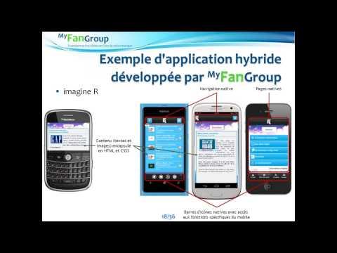 HTML 5 ou applications mobiles, natives ou hybrides :  comment choisir ?