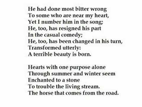 """""""Easter 1916"""" by W.B. Yeats (read by Tom O'Bedlam)"""