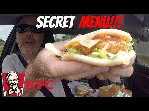 KFC Secret Menu!!!!