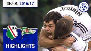 Legia Warszawa - Lechia Gdańsk 3:0 [skrót] sezon 2016/17 kolejka 11