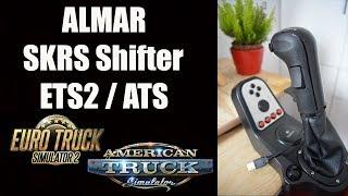 ✅ ALMAR SKRS Shifter ETS2 / ATS Unboxing and Install Tutorial