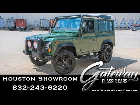 1997 Land Rover Defender Gateway Classic Cars 1544 Houston Showroom
