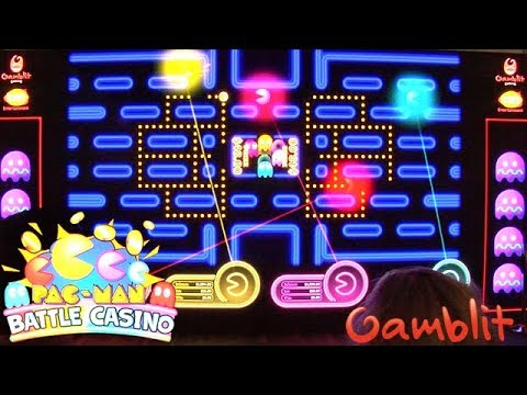 PAC-MAN Battle Casino From Gamblit
