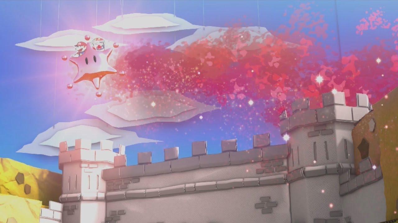 All Big Paint Star Color Restoration Scenes - Paper Mario: Color ...