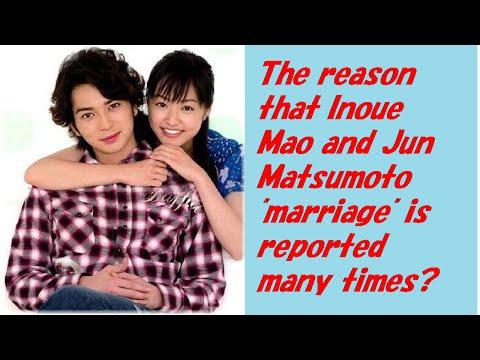 Jun Matsumoto en Inoue Mao dating voor 9 jaar