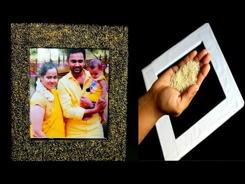 How to make Photo Frame at Home | DIY Photo Frame | Best Out of Waste Idea