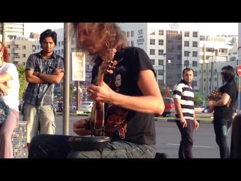 street guitarist amazing * Eugenio Martinez* in Dubai.