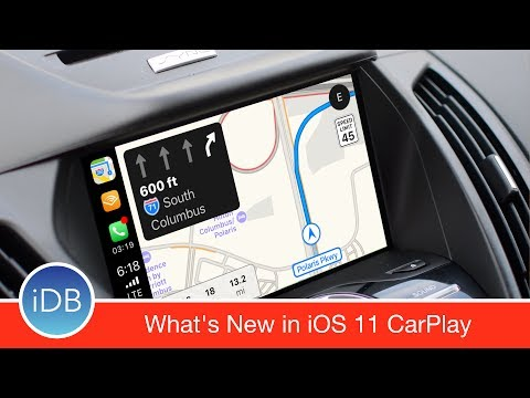 What's New with CarPlay in iOS 11