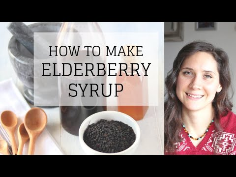 How to Make Elderberry Syrup with Dried Elderberries | NATURAL REMEDIES | Bumblebee Apothecary