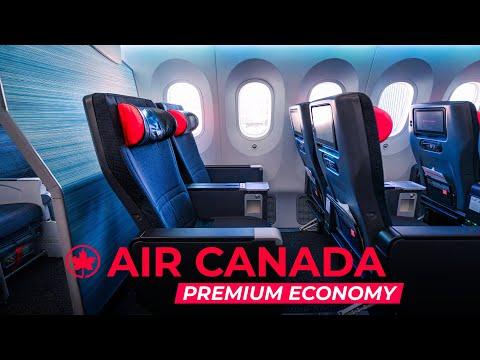 Air Canada 787 Premium Economy - Vancouver To Toronto