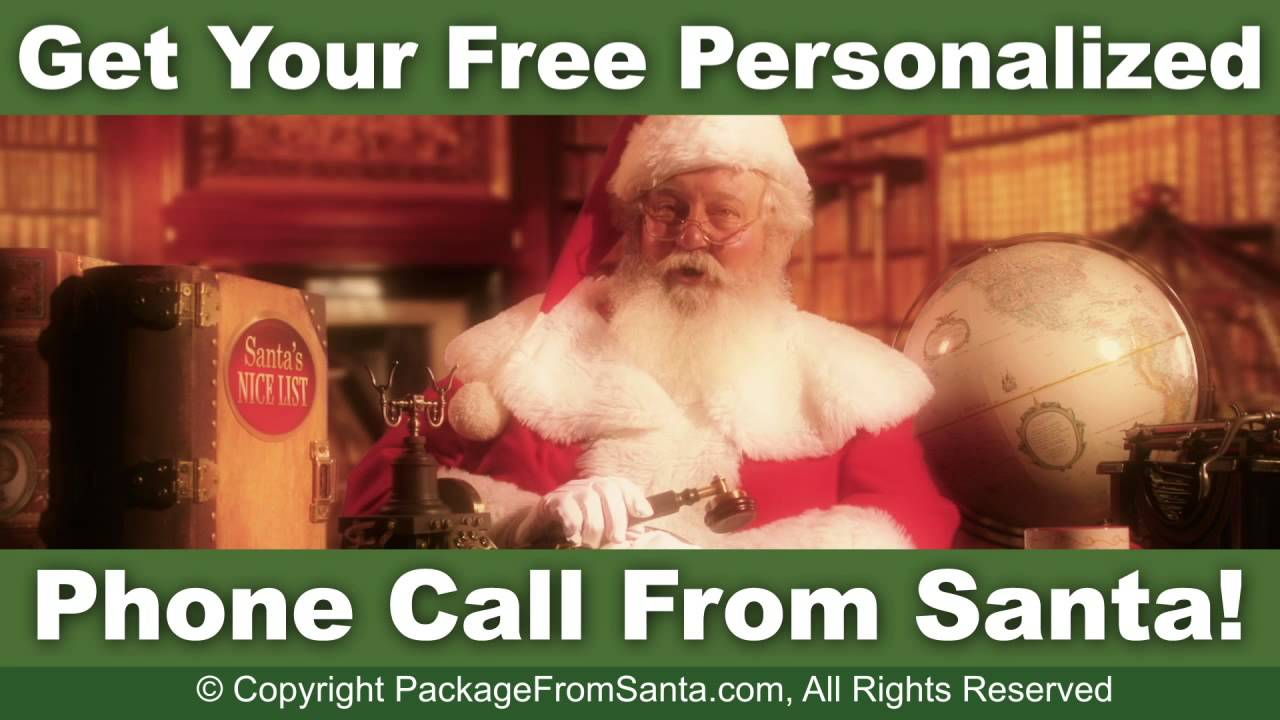 Letters From Santa Now Come With A Free Personalized Phone Call From