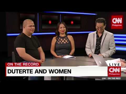 On the Record: Duterte and Women