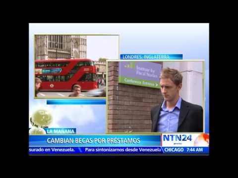 ¿Cómo afecta el cambio de becas por préstamos a universitarios en Reino Unido? Analista en NTN24 de YouTube · Duración:  5 minutos 40 segundos