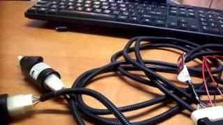 видео Замена гидрокорректора фар на гранте
