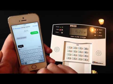 Remote control via SMS -gsm alarm system,  Wireless GSM Alarm System - www.gsmalarmsystems.net