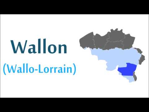 10 langues de Wallonie / 10 languages of Wallonia
